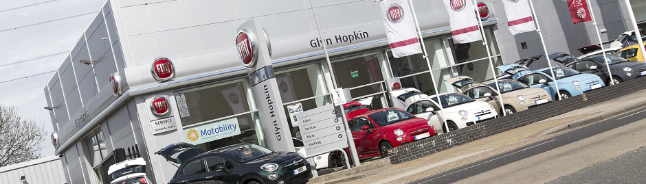 Fiat Dealership East London Manor Park Glyn Hopkin Fiat - Fiat dealers in london