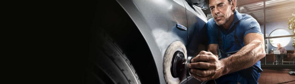 Body Repair Lookers MercedesBenz - Mercedes benz body repair
