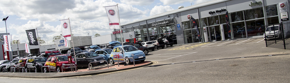 Fiat Dealership Cambridge Glyn Hopkin Fiat Dealers - Fiat dealers in london