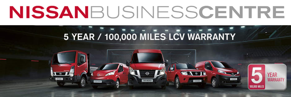 Nissan Business Centre Warranty | Business Users | Westover Nissan