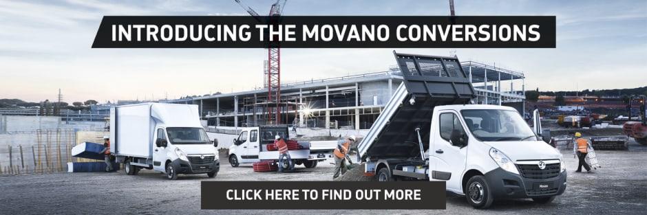 New Vauxhall Movano Van Conversion Offers