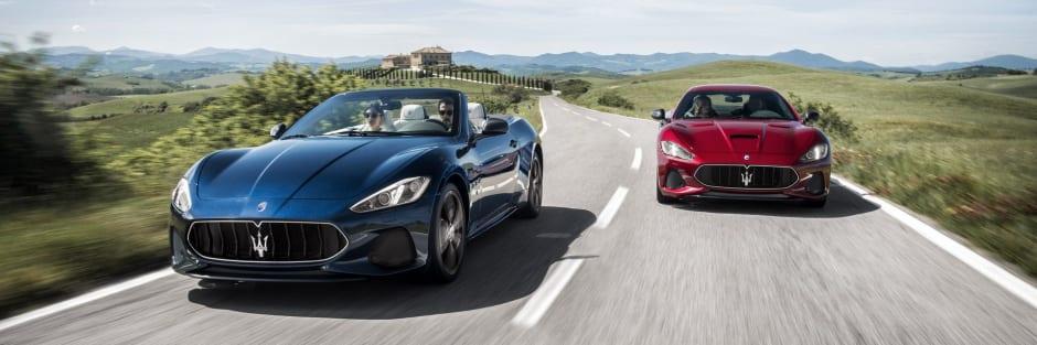 Maserati Reveal 2018 Granturismo Grancabrio