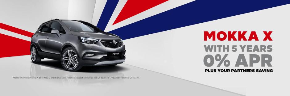 5b8c5780d4 Vauxhall Mokka X Partner Offers
