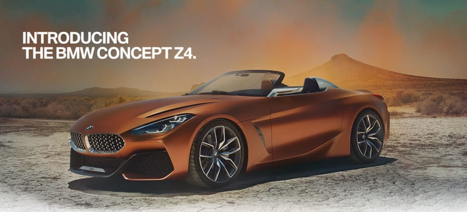 introducing the bmw concept z4 - 46 Automotive Cv Effortless