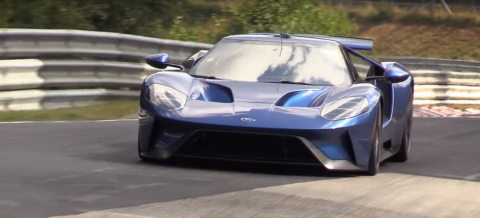 Ford Gt On Nurburgring
