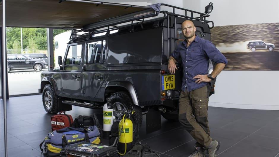 Land Rover Ambador Monty Halls