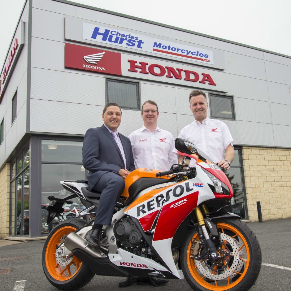 charles hurst expands motorcycle specialism with acquisition of