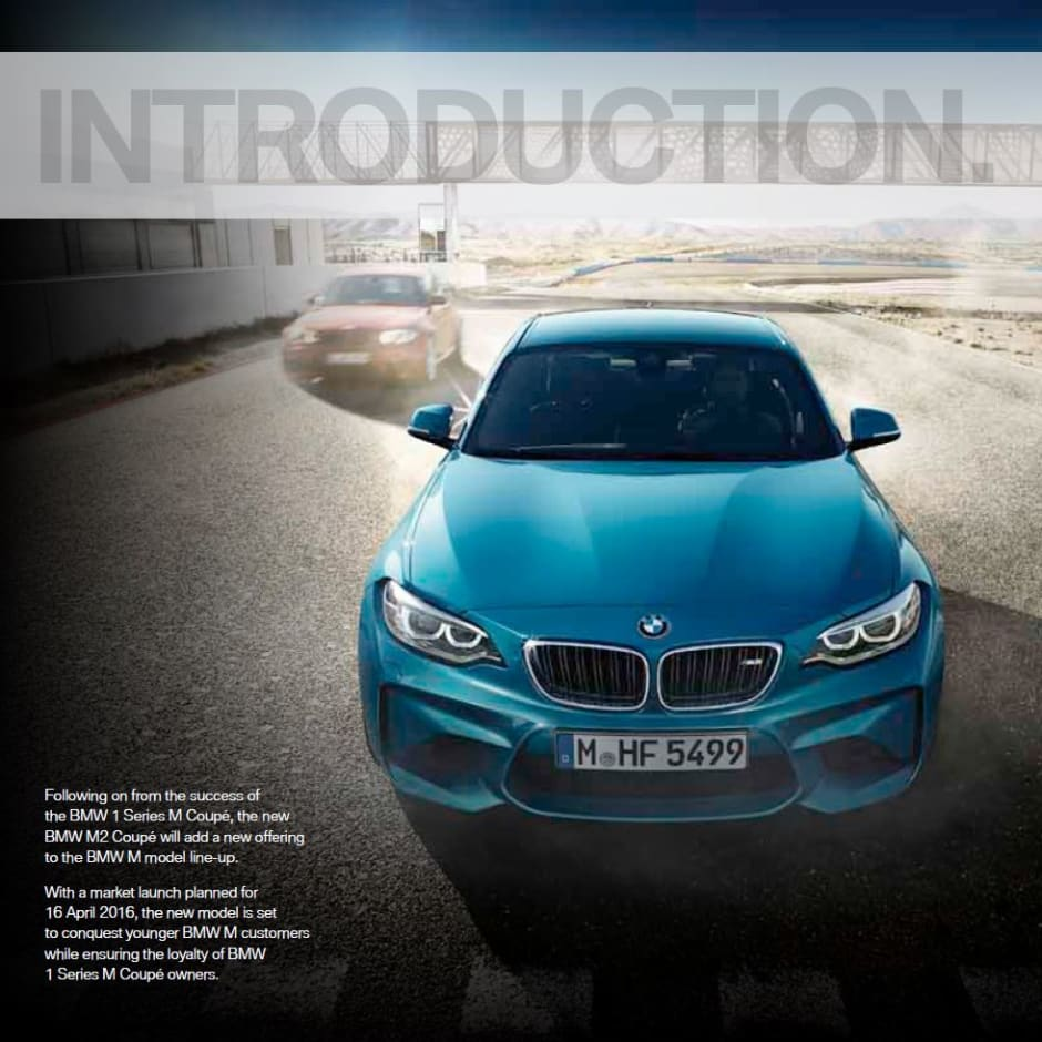 new car release april 2016THE ALL NEW BMW M2 LAUNCHES APRIL 2016  John Clark BMW