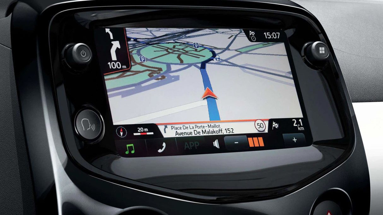 Peugeot 108 touchscreen