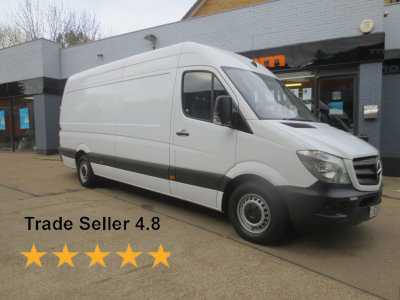 Used Mercedes Sprinter >> Used Mercedes Benz Sprinter Vans Hertfordshire Watfordvans Com