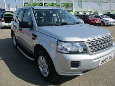 Used Land Rover Cars | Marshall Land Rover