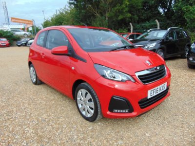 Used Peugeot Cars For Sale In St Neots | Marshall Peugeot