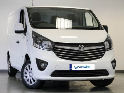 12597b9cfe Vauxhall Vivaro L1 H1 EURO 6 2700 1.6CDTI 120PS Sportive H1 Van