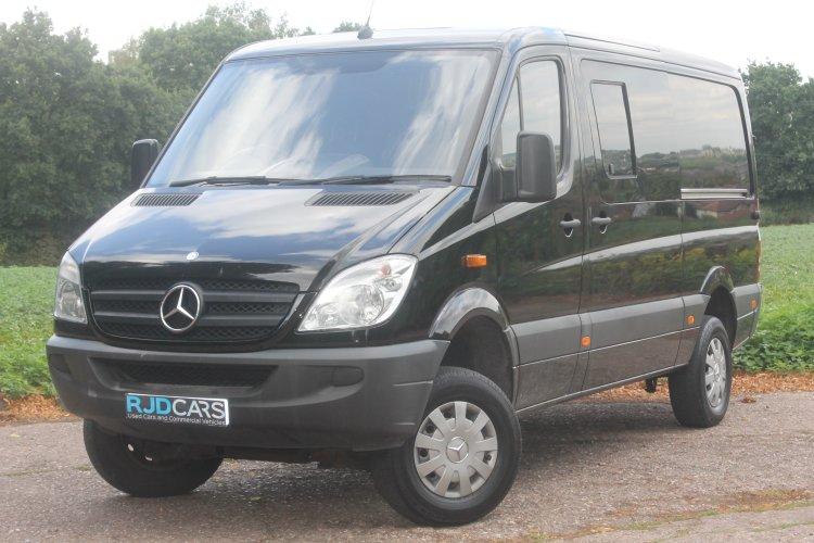 06ed32eda32cc0 Mercedes-Benz Sprinter 316 MWB 3.5t 2.1CDi 163 Van 6