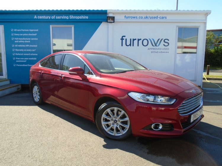 Find your perfect Used Ford Mondeo | Furrows Ford | Shropshire