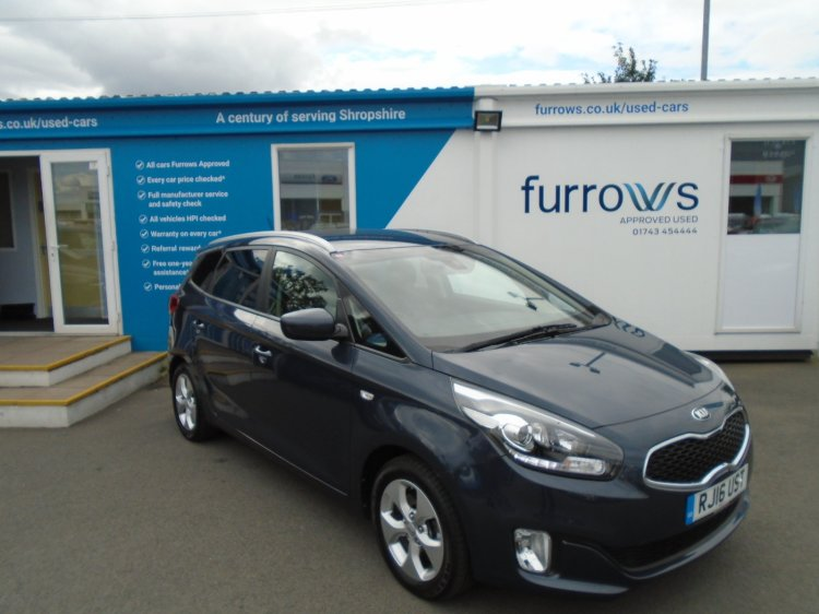 Used Kia Carens | Furrows Kia | Telford & Shrewsbury