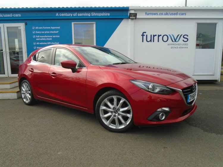 Find your perfect Used Mazda3 | Furrows Mazda | Shrewsbury
