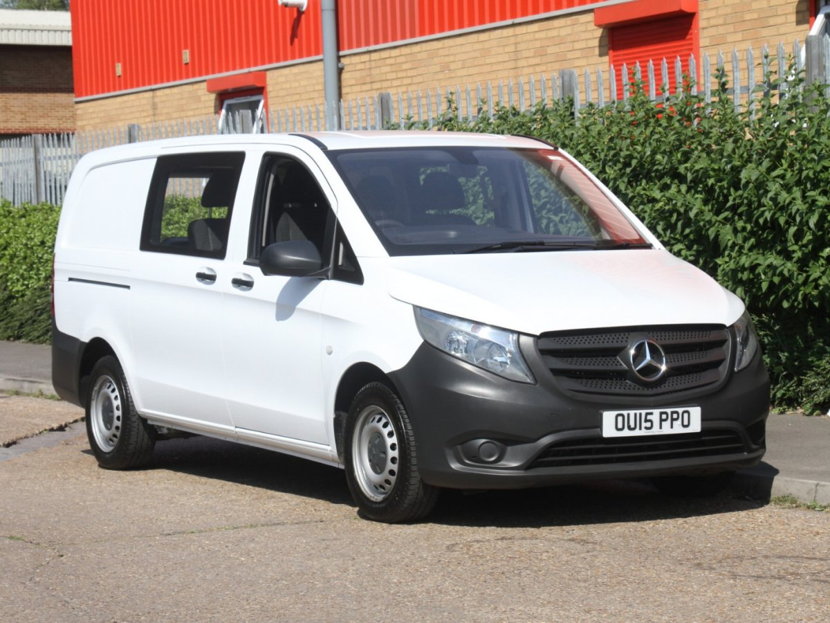 Used Van Search Mercedes Benz Commercial Vehicles Vehicle 1960 300d Fuel Filter 201515 Vito 111 Cdi