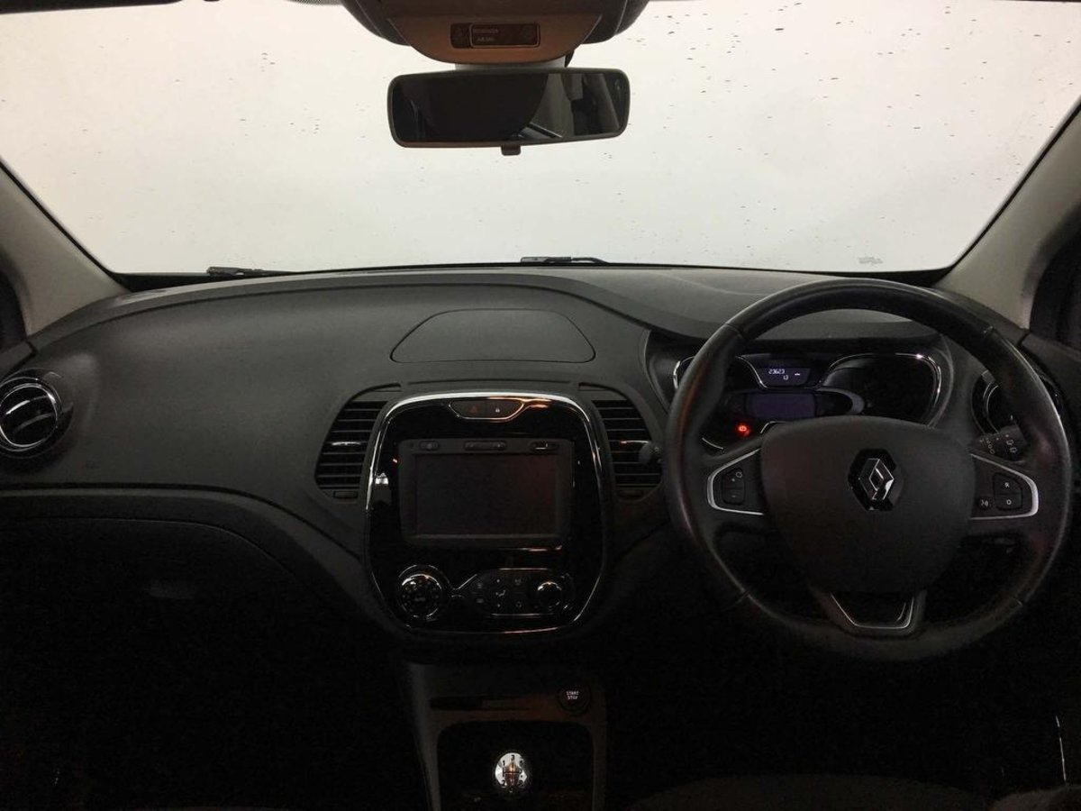 Renault Captur 2013-/> Door Mirror Electric Gloss Black O//S Driver Right