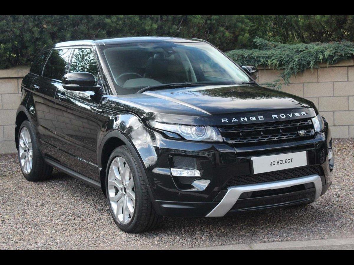 Range Rover Evoque >> Used Vans