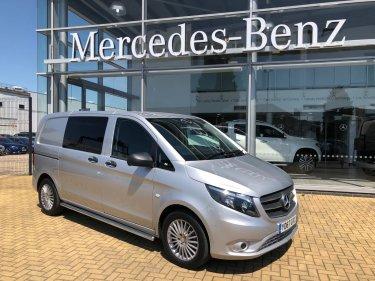 fe3cbbbeef Save. Mercedes-Benz Vito 111 CDI - Crew Van. Diesel