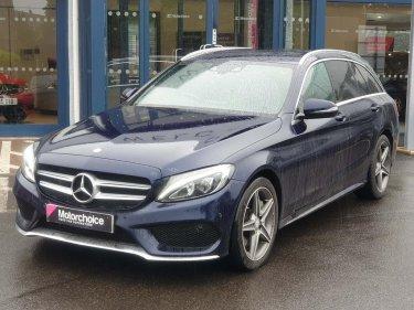 Used Mercedes-Benz C Class 2 1 C250d AMG Line (Premium Plus