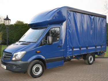 Mercedes Benz Sprinter 316 CDI 163 BHP CURTAIN SIDER