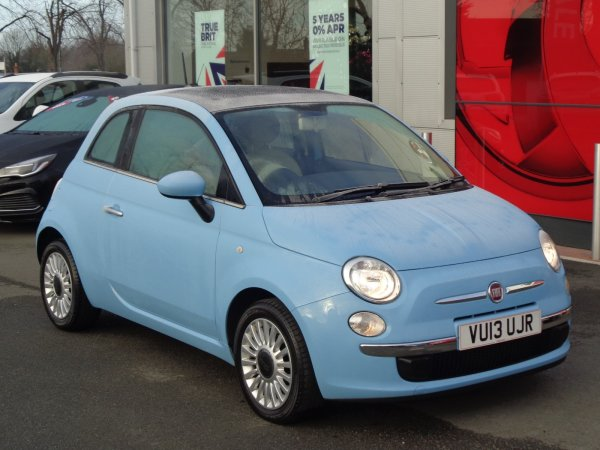 Fiat 500 Lounge 1 2 Air Con Panoramic Roof Alloys 2 Keys Full