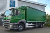 Mercedes-Benz Atego 1824 Curtainsider Distribution Trim Sleeper