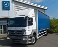 Mercedes-Benz Atego 1824L Curtainsider with Sleeper