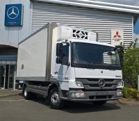 Mercedes-Benz Atego 1018 Fridge Box with Day Cab