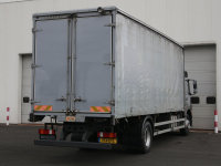 Mercedes-Benz Atego 1824 Curtainsider with Sleeper Cab