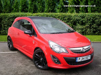 VAUXHALL CORSA 3 DOOR Limited Edition 1.2 85 3dr