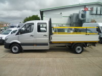 Mercedes-Benz Sprinter 313 CDI Dropside Crew Cab Long