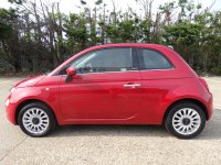 Fiat 500 1.2 Lounge 2dr Convertible