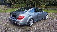 Mercedes-Benz C Class C220 CDI AMG Sport Edition 2dr Auto [Premium Plus]