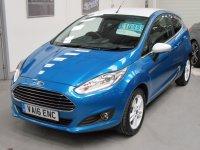 Ford Fiesta ZETEC 1.0T Ecoboost BLUE EDITION * SAT NAV *
