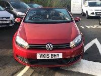 Volkswagen Golf SE 1.6TDI BLUEMOTION TECHNOLOGY **2DR CONVERTIBLE**