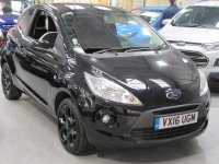 Ford Ka ZETEC BLACK EDITION  * ONLY 3680 MILES *