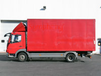 Mercedes-Benz Atego 816 Box with Day Cab