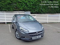 VAUXHALL CORSA 5 DOOR 2016/66, 1.4i 90ps SE Auto, Advanced Park Assist, 5 Door