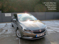 VAUXHALL ASTRA 2017/67, 1.4i Turbo 150ps Elite Nav, Parking sensors, Reversing camera