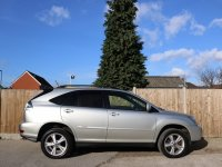Lexus RX RX400h 3.3 Hybrid SR Auto 4x4 4WD Sat Nav Rear Cam Bluetooth Full Leather Heated Seats Just 2 Private Owners Only 80,000 Miles Full Lexus Service History 9 Stamps 57-Reg