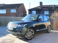 Land Rover Range Rover 5.0 V8 SC Supercharged 510 BHP Autobiography Auto 4x4 4WD Pan Roof Rear DVD Sat Nav TV Rear Cam Bluetooth DAB Full Leather 4x Heated Ventilated Seats Just 2 Private Owners Only 30,000 Miles Full Service History Vehicle Previously Supplied By Us 64-Reg