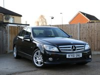 Mercedes-Benz C Class C180 CGI Sport Blue Efficiency Tiptronic Auto Sat Nav Bluetooth Climate Control 17in AMG Alloys Only 71,000 Miles Full Service History Vehicle Previously Supplied By Us 10-Reg