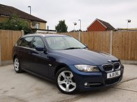 BMW 3 Series 320d Turbo Diesel Exclusive Edition 6 Speed Auto Touring Estate Bluetooth DAB Full Leather Just 2 Owners Only 74,000 Miles Full Service History 5 Stamps Over 3,000 Pounds of Extras 11-Reg