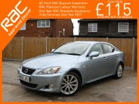 Lexus IS IS250 2.5 SE 6 Speed Auto Full Leather Heated Ventilated Seats Just 2 Owners Only 77,000 Miles Full Lexus Service History 9 Stamps 56-Reg