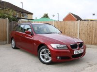BMW 3 Series 320d ES Turbo Diesel 181 BHP 6 Speed Auto Touring Estate Full Leather Parking Sensors Air Con Just 1 Owner Only 46,000 Miles Full BMW Service History nearly 5,000 Pounds of Extras 12-Reg