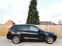 BMW X3 xDrive20d SE Turbo Diesel 182 BHP 8 Speed Auto 4x4 4WD Sat Nav Bluetooth Full Leather Heated Seats Just 1 Private Owner Only 42,000 Miles Full BMW Service History From The Supplying Dealer 5,500 Pounds of Extras 61-Reg