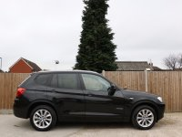 BMW X3 xDrive20d SE Turbo Diesel 182 BHP 8 Speed Auto 4x4 4WD Sat Nav Bluetooth Full Leather Heated Seats Just 2 Lady Owners Only 75,000 Miles Full BMW Service History 5 Stamps Over 6,000 Pounds of Extras 62-Reg
